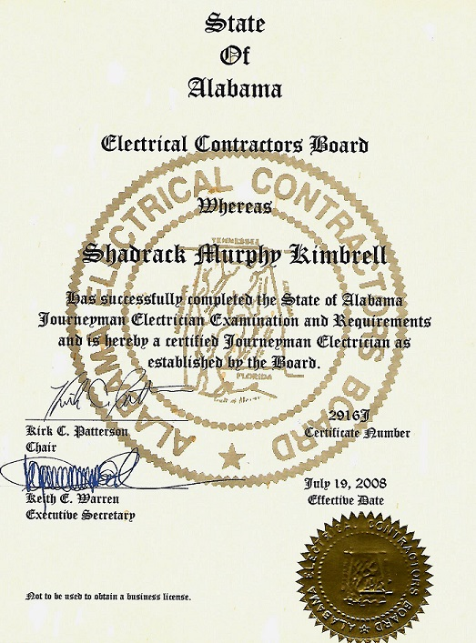 Sk Electrical Service Company Certified Electricians